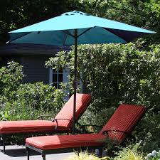 9 Ft Patio Umbrella Frame by Pure Garden 9 U0027 Aluminum Patio Umbrella With Auto Crank Walmart Com