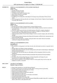 Download Medical Sales Representative Resume Sample As Image File