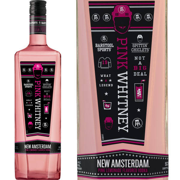 New Amsterdam Vodka, Pink Whitney, Pink Lemonade Flavored - 750 ml