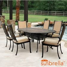 Lakeview Bocage 7 Piece Cast Aluminum Sling Patio Dining Set ... Outdoor Fniture Fabric For Sling Chairs Phifer Cheap Modern Metal Steel Iron Textilener Teslin Stackable Stacking Arm Terrace Bistro Patio Garden Chair Buy Amazoncom Mzx Wicker Tear Drop Haing Gallery Capeleisure1 Lakeview Bocage 7 Piece Cast Alinum Ding Set Bali Rattan Bag On Carousell New Gray Frosted Glass Interesting Target With Amusing Eastern Ottomans Footrest Ftstools Sale Mkinac 40