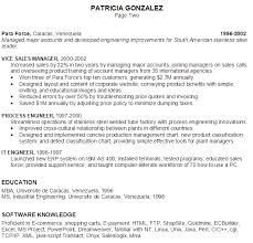 Resume E Commerce Project Manager