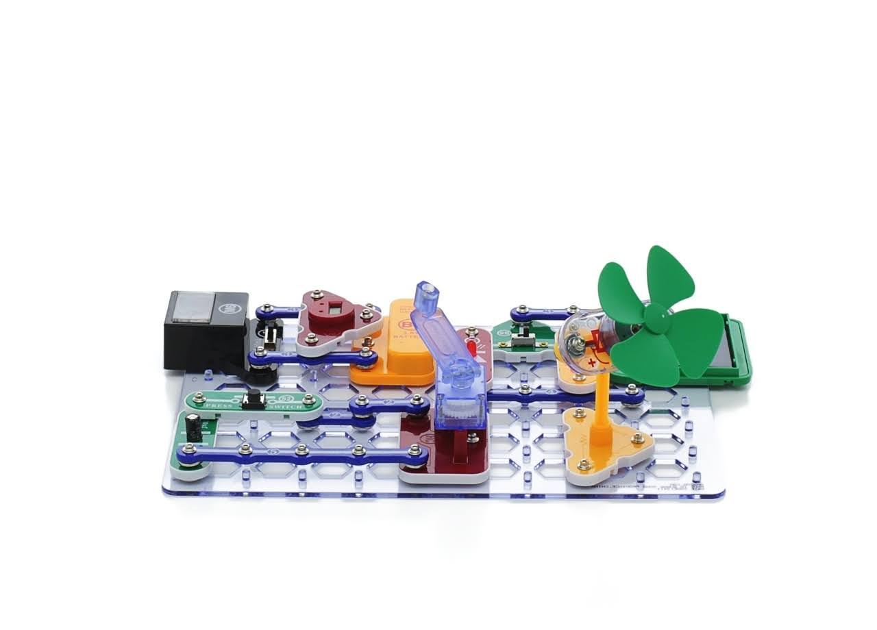 Elenco SCG125 Snap Circuits Green Alternative Energy Kit