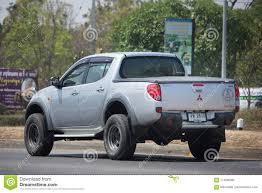 100 Mitsubishi Pickup Truck Private Car Triton Editorial Photography