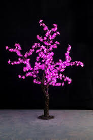 Free Ship Pink 5ft Height Christmas Tree Light Simulation Cherry Blossom With Natural Trunk