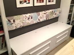 How To Build A Banquette With Storage Bench Build A Banquette ... Banquette Fniture With Storage Bench Built In Kitchen Corner Booth Seating Ana White Diy Projects Noble Build A Also Remodelaholic Ding Tables Fabulous Round How To Window Seat With To A Custom Diy Entryway Ideas Charming 81 Ikea