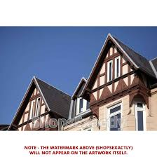 100 Architecture Gable Laminated Poster Of Old Home 1900 Truss Roof Poster Print 24 X 36