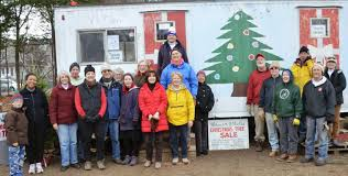 Fraser Fir Christmas Trees For Sale by Master Gardeners Muscle Up For Westfield Y U0027s Men U0027s 60th Annual