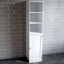 Free Standing Storage Cabinets For Bathrooms by Bathroom Cabinets Tall Slim Cabinet Bathroom Wall Storage