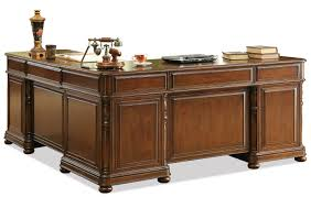Raymour And Flanigan Desk With Hutch by Riverside Furniture Bristol Court Large Cherry L Desk And Return