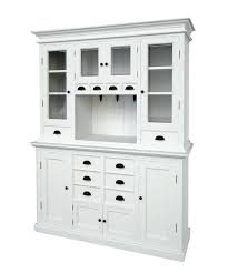 White Dining Hutch Buffet With Cabinet Hardware Ideas