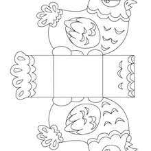 Bunny Basket Easter Chick Coloring Page