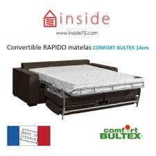 canapé lit bultex canapé convertible rapido canapé lit cordoue convertible 140cm