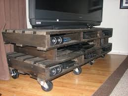 Diy Pallet Tv Stand Plans Seven Ravishing On TV