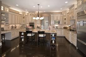 kitchen cream cabinets dark wood floors quicua com