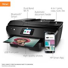 Amazon HP ENVY Photo 7855 All In One Printer With Wireless Printing Instant Ink Ready Electronics