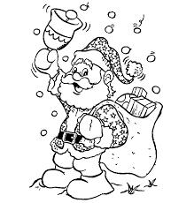 Christmas Santa Template For Kids