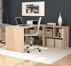 Bestar U Shaped Desks by Amazon Com Bestar 150869 38 I3 L Shaped Desk Northern Maple