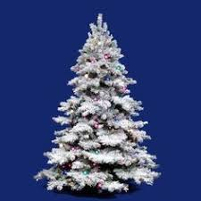 Christmas Tree Amazon Local by Holiday Time Pre Lit 4 U0027 Indiana Spruce White Artificial Christmas