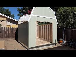 Tuff Shed Small Houses by Tuff Shed Installed Start To Finish Time Laps Youtube