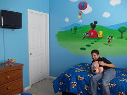 Image Of Mickey Mouse Bedroom Decorating Ideas