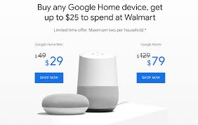 Deal Alert] You Can Net A Google Home Mini For $4 With The ... Walmart Passport Photo Deals Williams Sonoma Home Online Free 85 Off Coupon Facebook Scam Hoaxslayer Expired Ymmv Walmartcom 10 20 Maximum Discount Black Friday Promo Codes Niagara Falls Comedy Club Coupons Canada Bridal Shower Gift Ideas For The Bride Rca Coupon Quantative Research With Numbers Erafone Round Table Employee Discount Good Health Usa Code Black Friday 2018 Best Deals On Apple Products Including Deal Alert You Can Net A Google Home Mini 4 Grocery Promo Code 2017 First Time Uber