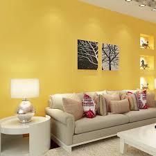 paysota moderne einfache feste farbe gelb tapete schlafzimmer wohnzimmer kinder zimmer wand papier rolle