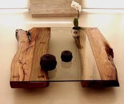 glass coffee tables lastest ideas tree trunk coffee table glass