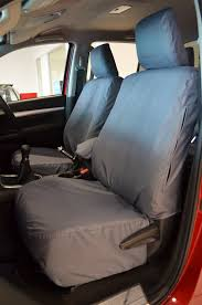 Toyota Hilux Icon & Invincible 2016+ Custom Fit Waterproof Seat Covers