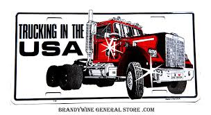 Trucking In The USA Novelty License Plate | Brandywine General Store 2019 New Freightliner M2 106 At Premier Truck Group Serving Usa Driving Schools Big Rewards With Trucking Custom Trucks Pinterest Kenworth Simulator Android Ios Trailer Youtube So Frunkisoa Just Got Doxed As A Truck Driver Its All Coming Vangos Sturdylite Alinum Products Made In The Bounces Back 4q Transport Topics Michael Cereghino Avsfan118s Most Recent Flickr Photos Picssr The Worlds Best Photos Of Trucking And Usa Hive Mind Transportation Hazmat Freight To Canada Hazardous Materials Two Speeding Semi Trucks Matchmaker Logistics Schneider White Orange Editorial