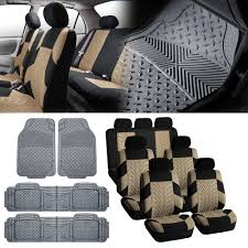 BESTFH: 7Seaters 3ROW SUV Beige Seat Covers With Gray Floor Mats For ... Weathertech Floorliners Laser Measured Perfect Fit Floor Mats Chevy Fast Facts Youtube Autozone Ford Truck Rubber Flooring Simple Van For Dodge Ram 3pc Set All Weather Semi Plasticolor 0472r01 With Gmc Logo Wtxb309310 Tuff Parts Hdware Daves Tonneau Covers Accsories Llc Autoplex Ft Collins Loveland Lgmont Co Wallpapers Hd Quality Armor Black Full Coverage Mat78990 The