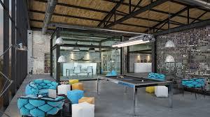 104 Interior Design Loft Office It Office On Behance