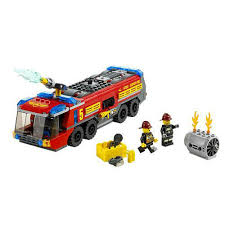 LEGO City Airport Fire Truck 60061 | Buy Online At The Nile Lego City Fire Truck Free Transparent To The Rescue Level 1 Lego Itructions 60110 Station Book 3 60002 Sealed Misb Toys Games On Carousell Brigade Kids Amazoncom Scholastic Reader Ladder 60107 Engine Burning 60004 7239 Bricks Figurines City Airport With Two Minifigures And