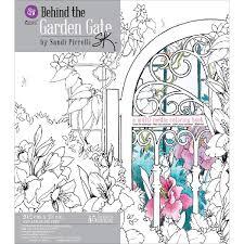 Prima Marketing Behind The Garden Gate Livre De Coloriage