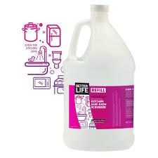 kitchen and bath scrubber 1 gallon refill even the kitchen sink