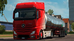 1.30] Euro Truck Simulator 2 | Mercedes Actros 2014 Low Chassis ...