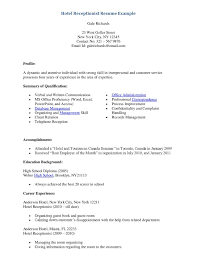 Fresh Sample Cover Letter For Receptionist Administrative Assistant Resume Of