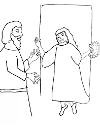 Bible Story Coloring Page For Jephthahs Daughter