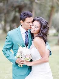 Dreamy Blue And Green Wedding Inspiration Shoot