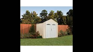 Rubbermaid 7x7 Storage Shed by Rubbermaid 7x7 Feet Roughneck X Large 325 Cubic Feet Outdoor