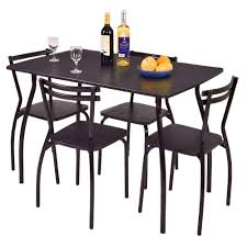 Amazon.com - BS Breakfast Table Set 5 Piece Dining Set Table ... Space Saving Kitchen Table And Chairs House Design Ipirations Saver Marvellous Classic Ikea Folding Ding Tables Surripuinet Spacesaving 4 Seater Ding Table Set In Blairgowrie Perth And Interior Sets With Next Day Delivery Room Set Value Compact 2 Seater Ideas 42 Inch Round Langford For 7500 Sale Of 3 Rustic Rectangular Benches 5 Pcs Wood W Storage Ottoman Stools Courtyard Costway Piece Dinette