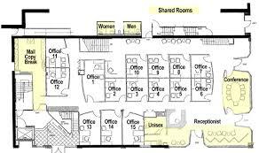 fice Floor Plan  17th & Central Executive Suites