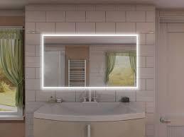 badspiegel mit led steckdose sino