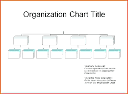 Organizational Chart Templates Sample Catering Business Small