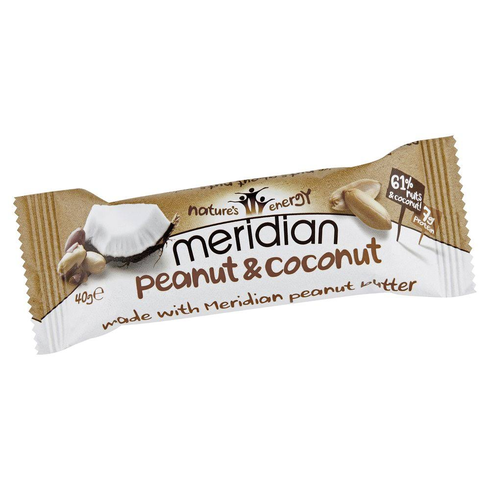 Meridian Bar - Peanut and Coconut, 40g