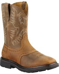 Ariat Men's Sierra Steel Square Toe Western Work Boots | Boot Barn Ariat Mens Mecte Western Boots Boot Barn Justin 11 Rugged Work Wolverine Marauder 8 Twisted X Shoes Sedona Cody James Square Toe Stockman Georgia Eagle Light Classic Sport Heritage Stampede Steel Laceup