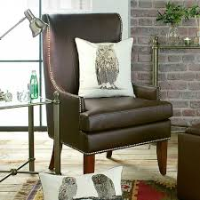 Tall Back Living Room Chairs | Home Belfry Brown Faux-Leather High ... Chair Leather High Back Chairs Living Room Accent Wingback Hcom Vintage Wing Tufted Brown Or Grey Home Done 2 Ding Upholstered Durable Top Grain Armchair Shop Belleze Extra Overstuffed Contemporary Full Recliner Chesterfield Embroidered Elements Queen Buy Fniture Elegant Appearance Product 10 Funiture Armless With Very Short Wooden Bellagio And Mattress Store 20 Best Of Modern For Guiadokartingeu Ottoman For Sale At 1stdibs
