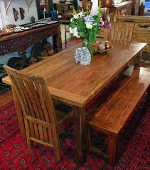 Reclaimed Teak Dining Table With Four 4 Legs Made From Salvaged Old Growth Wood