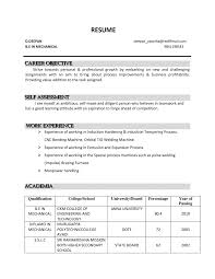 Resume Sample Simple Objectives For Any Job Mgorka Com What Full Size Of General Template