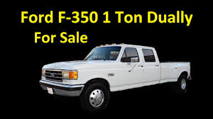 Buy A Ford F350 Dually Crew Cab Pickup Truck Video Review - YouTube