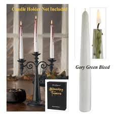 Halloween Flameless Taper Candles by Halloween Candles And Flameless Candles Halloween Wikii